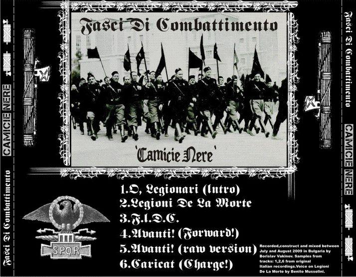 an introduction to the program fasci di combattimento by benito mussolini From mussolini's fasci italiani di combattimento (italian combat fasci), il popolo d'italia newspaper, june 6, 1919 interview is also known as testament of benito mussolini, or testamento di benito mussolini also published under mussolini confessed to the stars, publishing house latinitas.