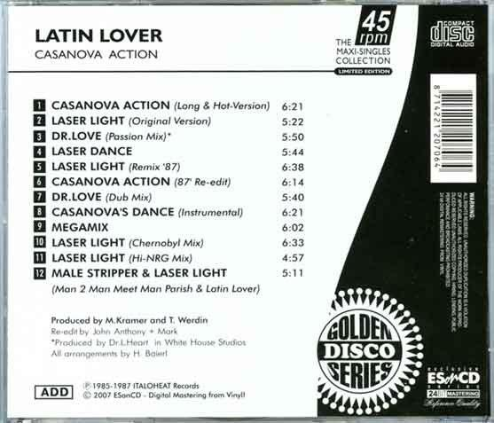 Latin Lover Laser Light