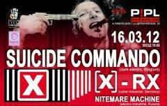Отчет: концерт Suicide Commando в Москве (16.03.2012)