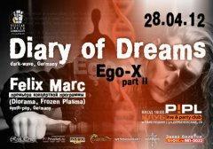 Отчёт: концерт Diary Of Dreams и Felix Marc в Москве (28.04.2012)