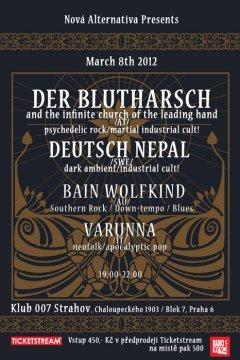 Отчёт: концерт Der Blutharsch в Праге (2012)