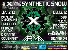 Отчёт: X Synthetic Snow Festival (07-08.12.2012)