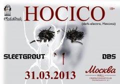 Отчет: концерт Hocico в Москве (31.03.2013)