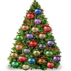 Новогодние и рождественские поздравления 2015
