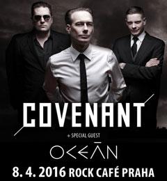 Отчёт: концерт Covenant в Праге (08.04.2016)