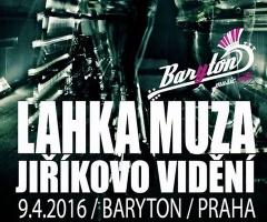 Отчёт: концерт Lahka Muza в Праге (09.04.2016)
