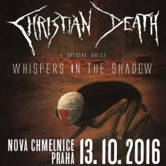 Отчёт: концерт Christian Death в Праге (13.10.2016)