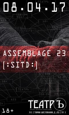 Assemblage 23 и SITD, 8 апреля, Москва