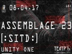 Отчёт: концерт Assemblage 23, [:SITD:] и Unity One в Москве (08.04.2017)