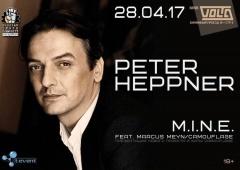 Отчёт: концерт Peter Heppner и M.I.N.E в Москве (28.04.2017)