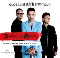 Отчёт: концерт Depeche Mode в Стокгольме (05.05.2017)