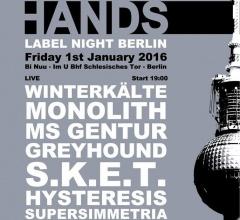 Отчёт: Hands Label Night 2016