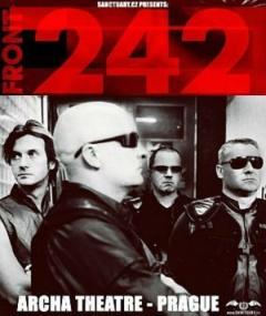 Отчёт: концерт Front 242 в Праге (04.10.2014)