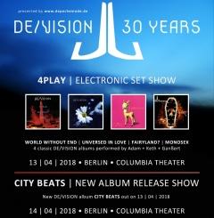 Отчёт: юбилейные концерты De/Vision в Берлине (13.04 - 14.04.2018)
